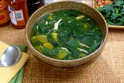 African Sticky Soup (Ewedu)