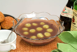 Rice Ball Bean Soup