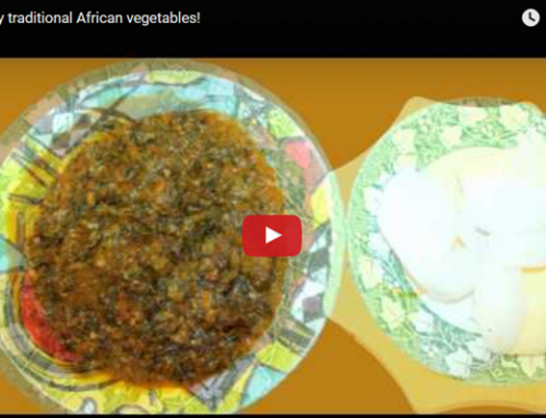 Enjoy traditional African vegetables!