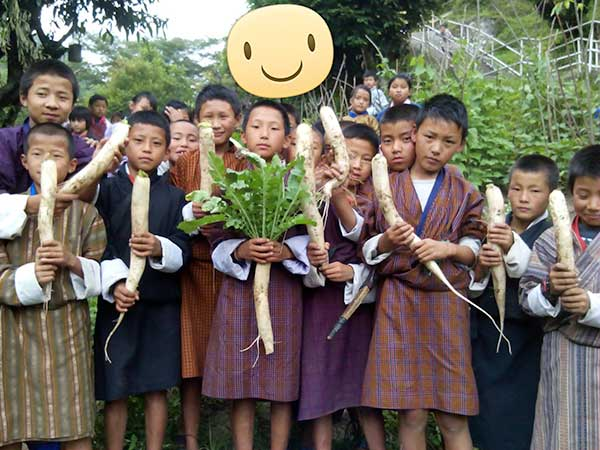 Bhutan-children_spinach_Choki-Gyeltshen