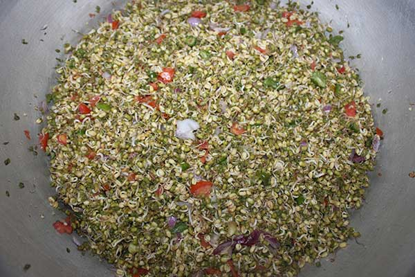 mungbean-salad