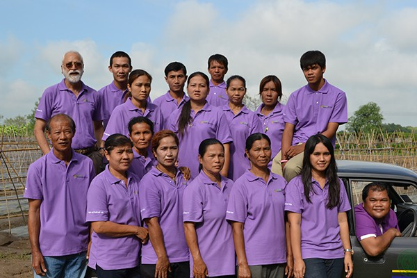"""The """"Cucurbit Crew"""" at AVRDC East and Southeast Asia."""