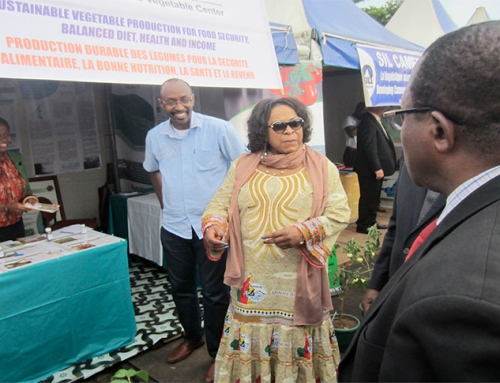 Cameroon crew promotes research and innovation