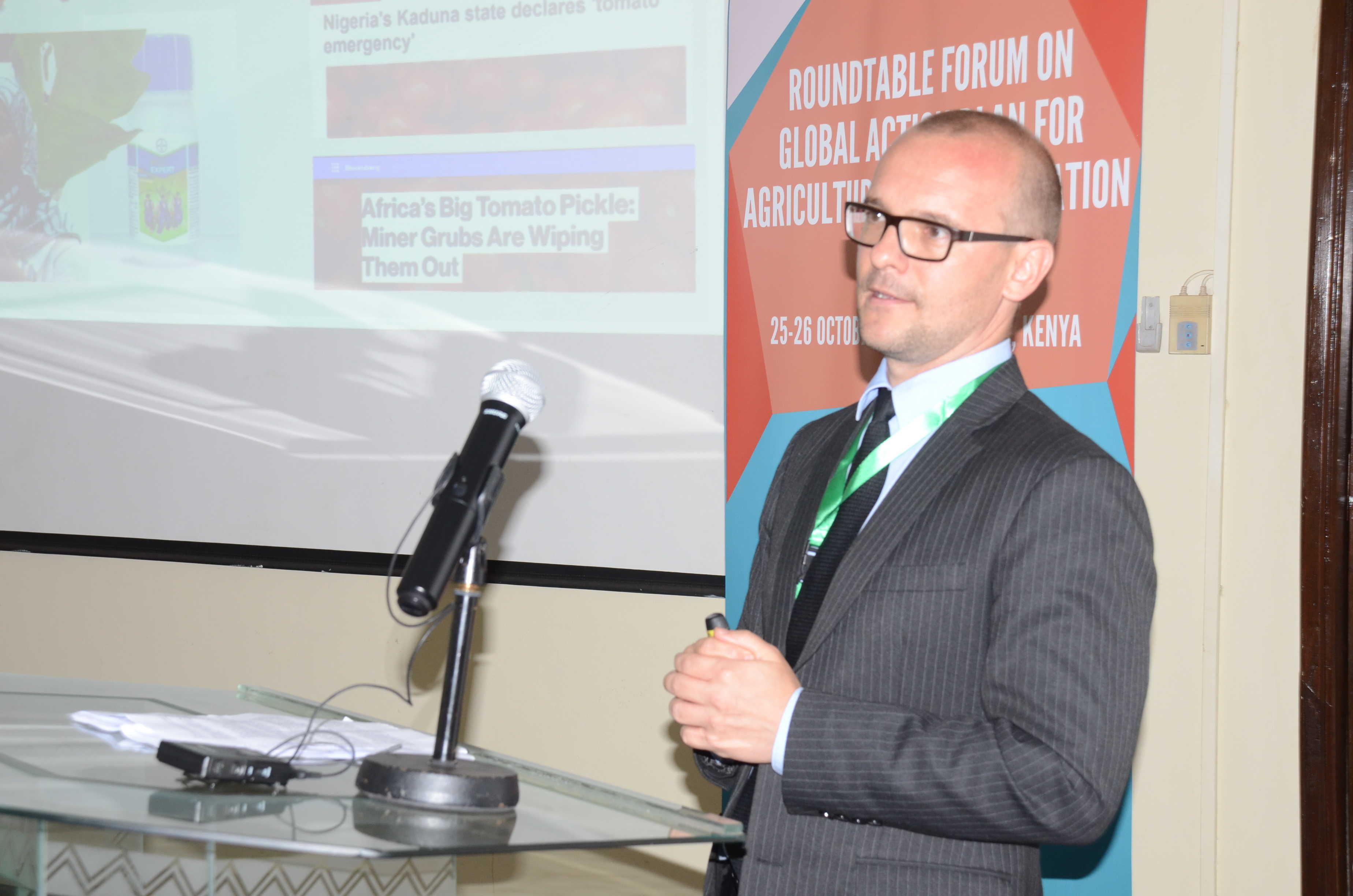 WorldVeg Eastern and Southern Africa Regional Director Thomas Dubois.