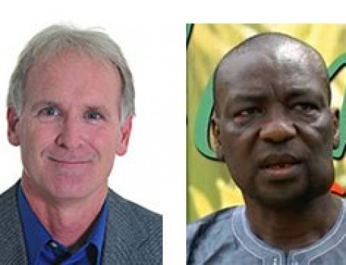 New directors: Deputy Director General – Research and Regional Director for West and Central Africa