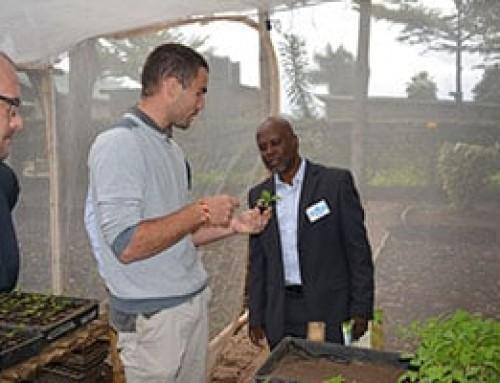 Director General of Agriculture Development of Rwanda visits WorldVeg