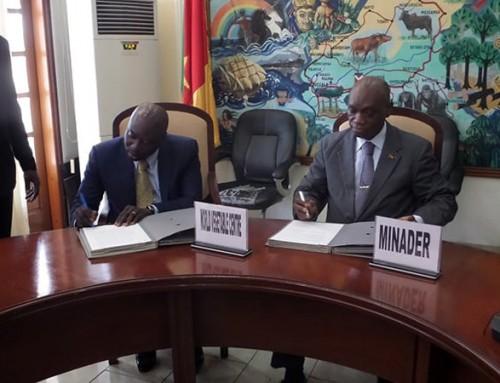 Cameroon and WorldVeg strengthen ties