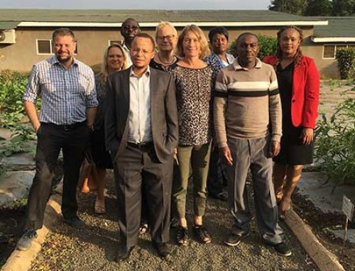 USAID visits WorldVeg in Tanzania