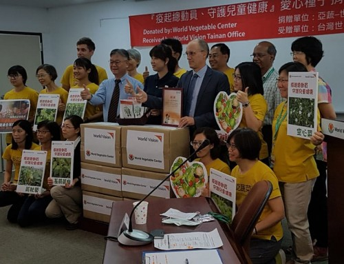 Vegetable seed kits link World Vegetable Center, World Vision, and people in southern Taiwan